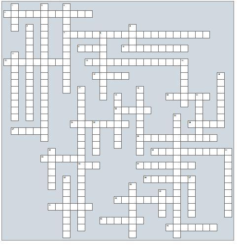 podiatry cryptic crossword