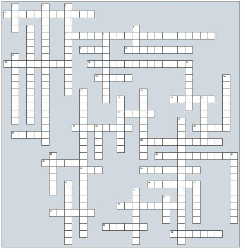podiatry cryptic crossword